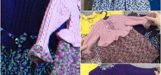 kumaş görünümlü örgü elbise modeli.png8