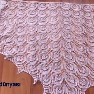 sisle-icice-yapraklar-ucgen-sal-yapimi-500x300