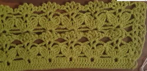 yeşil dantel yelek modeli