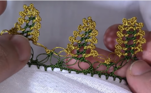 Boncuklu İki Şiş Patik Modeli Yapılışı Türkçe Anlatımlı Videolu