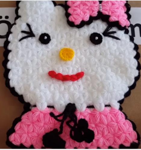 Hello Kitty Modeli Patik Yapılışı Türkçe Videolu