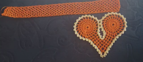kapli dantel havlu kenarı modeli