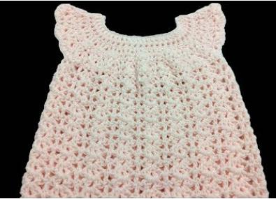 şi kolay bebek elbisesi yapımı