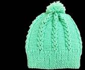 bağlı kalpler modeli ile bebek şapkası yapımı