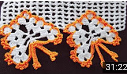 kelebekli havlu kenarı modeli