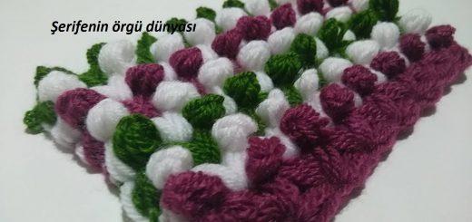 tomurcuklu lif battaniye modeli (1)