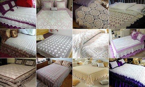 2018 dantel yatak örtüsü modelleri 2