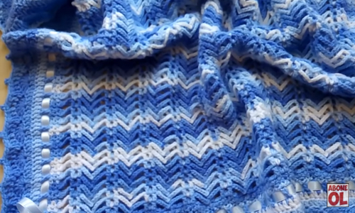 balıksırtı bebek battaniyesi yapımı.png5