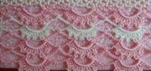 basit ve şık dantel havlu kenarı