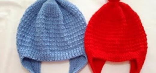 feza tipi kulaklıklı çocuk şapkası