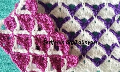 Renkli lif ve bebek battaniyesi halkalar modeli (1)