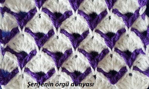 Renkli lif ve bebek battaniyesi halkalar modeli (14)