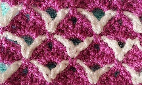 Renkli lif ve bebek battaniyesi halkalar modeli (22)