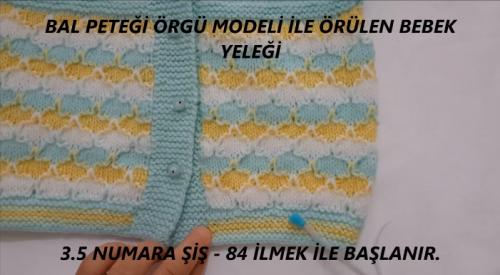 bal peteği modeli ile robalı bebek yeleği yapımı.png4