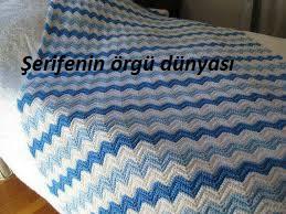 kabartmalı zikzak battaniye modeli (1)