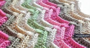 kabartmalı zikzak battaniye modeli (2)