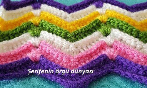 kabartmalı zikzak battaniye modeli (4)