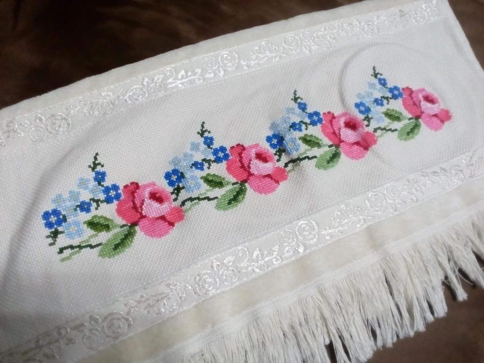 kanaviçe havlu modelleri (2)
