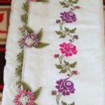 kanaviçe havlu modelleri (5)
