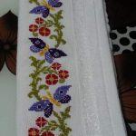 kanaviçe işlenmiş havlu örnekleri (21)