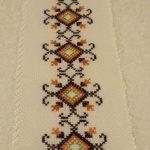 kanaviçe işlenmiş havlu örnekleri (31)