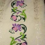 kanaviçe işlenmiş havlu örnekleri (36)