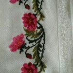 kanaviçe işlenmiş havlu örnekleri (47)
