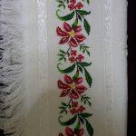 kanaviçe işlenmiş havlu örnekleri (49)