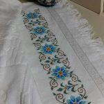 kanaviçe işlenmiş havlu örnekleri (6)