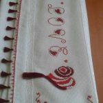 kanaviçe işlenmiş havlu örnekleri (63)