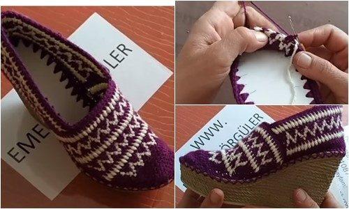 kilim desenli örgü ayakkabı yapımı.png6