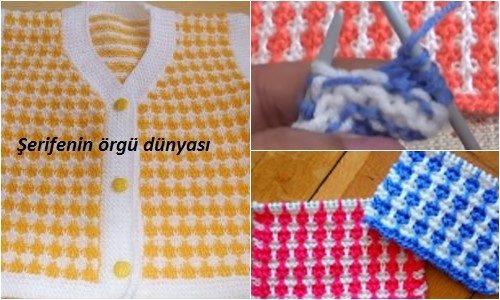 mozaik şeritler iki renkli örgü modeli.png6