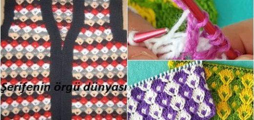 renkli baloncuklar bebek yeleği 123