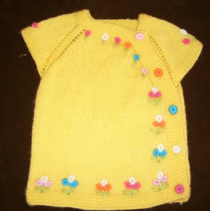 yandan düğmeli bebek yeleği (3)