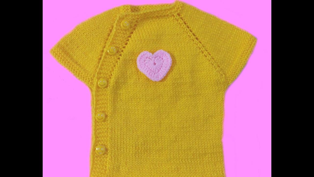 yandan düğmeli bebek yeleği (5)
