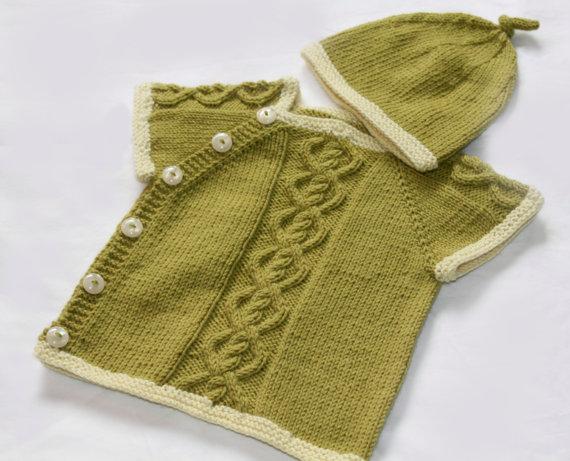 yandan düğmeli bebek yeleği (6)