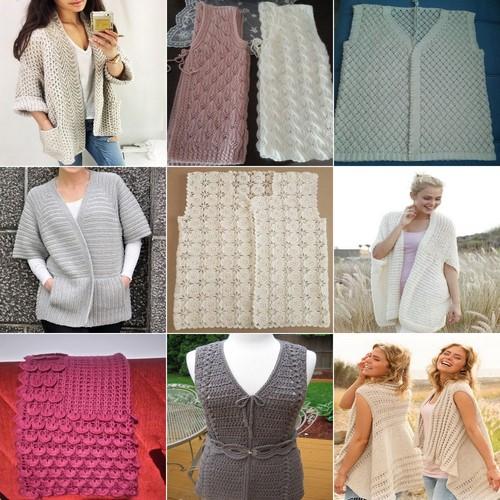 Küçük Hanımlara Örgü Elbise Modelleri