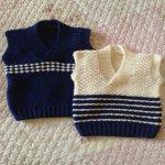 erkek bebek yelek ve süvter modelleri (45)