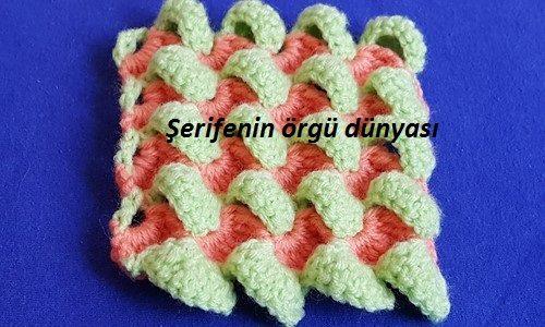 renkli ponponlar örgü modeli (7)