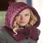 yeni sezon örgü bayan şapka ve kaşkol modelleri (15)