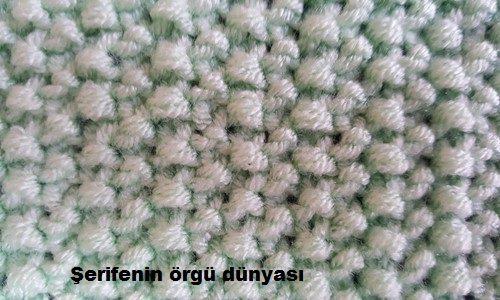 pirinç örgü modeli nasıl örülür (4)