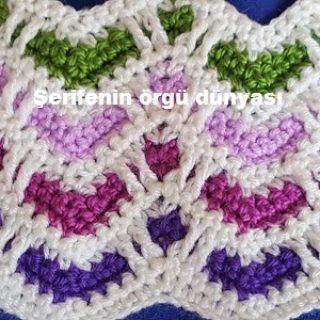 sevgi bahçesi tığ işi battaniye modeli (8)
