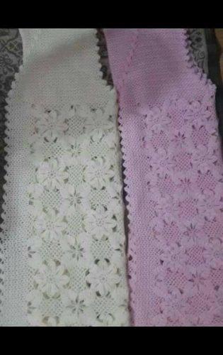tığ işi çiçek motifli yelek (1)