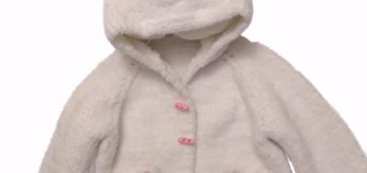 tavşan kulaklı çocuk hırka yapımı