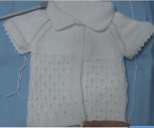 Yağmur Damlası Modeli Kız Bebek Yeleği Yapımı Videolu Anlatımlı