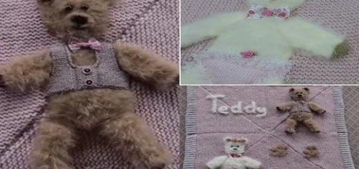 ayıcıklı bebek battaniyesi yapımı.png6