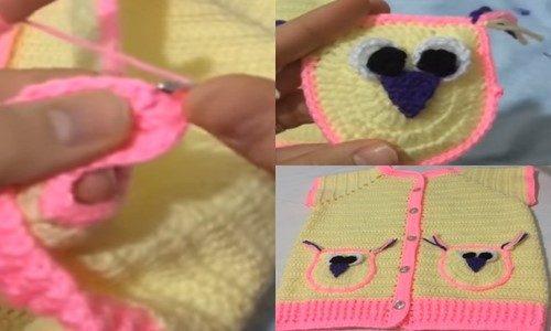 baykuş cepli bebek yeleği yapımı.png4