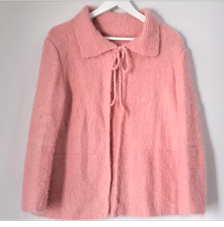 male collared ladies cardigan model &quot;width =&quot; 459 &quot;height =&quot; 464 &quot;/&gt; <img class=
