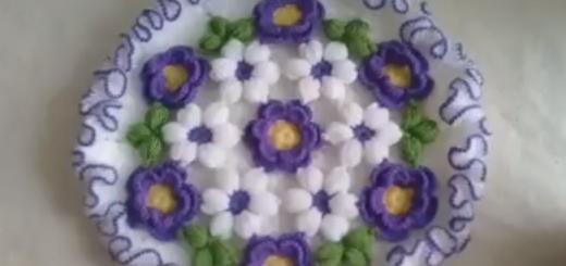 Fırfırlı Çiçek Bahçesi Modeli Lif Yapılışı Videolu Anlatımlı