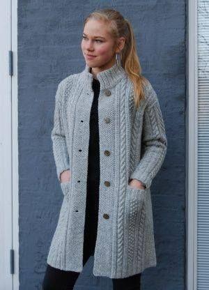 genç hanımlar için uzun örgü hırka modelleri (16)